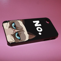 grumpy cat iphone case for iphone 4/4s, iphone 5. iphone 5s. iphone 5c case