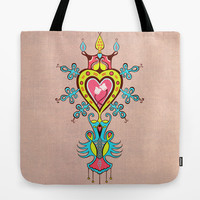 The Heart Rules Tote Bag by Vanya