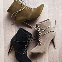 Lace-up Heritage Bootie - VS Collection - Victoria's Secret