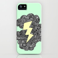 Storm Cloud iPhone & iPod Case by lush tart