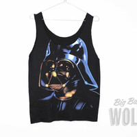 STAR WARS Darth Vader Singlet Tee Tank Top by shopbigbadwolf