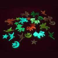 Unicorn Glow-In-The-Dark Stick-On Decorations