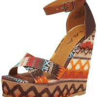 MIA Women's Reeba Wedge Sandal