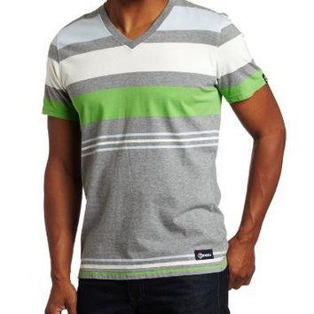Generra Men's Jersey Stripe Tee, Grey Tadpole, XX-Large