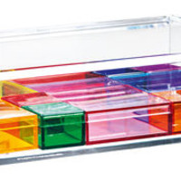 Clear jewellery box