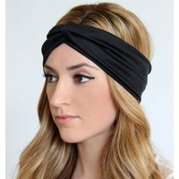 Silk Headband Turban