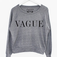 Vague Baggy Knit | BATOKO