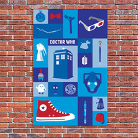 Doctor Who Icons Poster