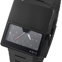 Void VO2 Retrograde Black Metal Strap