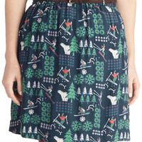 Ski to My Heart Skirt | Mod Retro Vintage Skirts | ModCloth.com