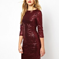 Oasis Sequin Bodycon Dress