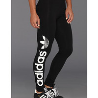 adidas Originals Trefoil Legging - Multicolor Black/White - Zappos.com Free Shipping BOTH Ways