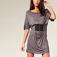 Vero Moda | Vero Moda Elastic Belt Jersey Dress at ASOS