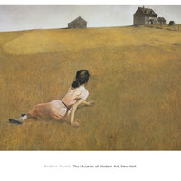 Christina's World Print by Andrew Wyeth at Art.com