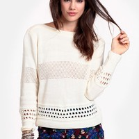 Moving Up Knit Sweater