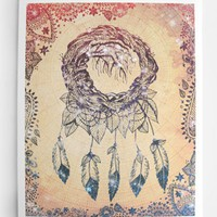The Dreaming Tree Indie Dream Catcher Print
