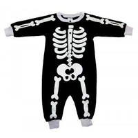 Okutani Skeleton Baby Pajamas Kids Clothing at Broken Cherry