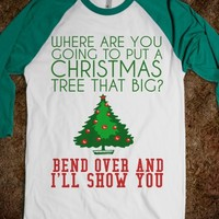 Supermarket: Bend Over Christmas Tree from Glamfoxx Shirts