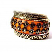 Fashion Gold Multilayer Bracelet