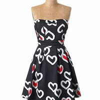 Jessica Simpson Collection A-Line Heart Dress