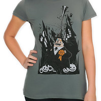 The Nightmare Before Christmas Mayor Girls T-Shirt