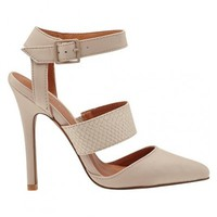 Love Potion Heels- Nude
