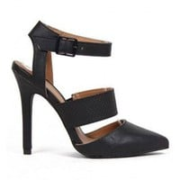 Love Potion Heels- Black