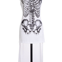 Bad to the Bone High Lo Tunic