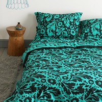 Magical Thinking Floral Block Duvet Cover - Urban Outfitters