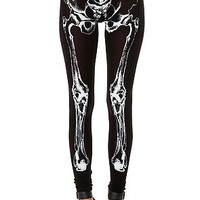 The Skeleton Bone Leggings