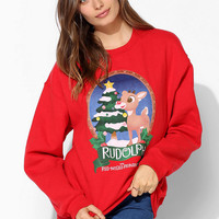 Rudolph Holiday Pullover Sweatshirt  - Urban Outfitters