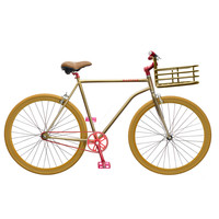 Martone Cycling Men's Grand Bike - Gold Bike - ShopBAZAAR