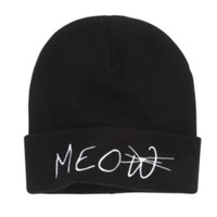 LA Hearts Meow Beanie at PacSun.com
