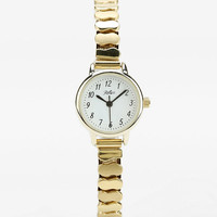 Classic Gold Stretch Bracelet Watch - Urban Outfitters