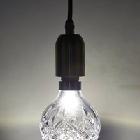 Crystal Pendant Lamp by Anthropologie Clear One Size Lighting