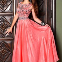 Shail K Dress 3842 at Peaches Boutique