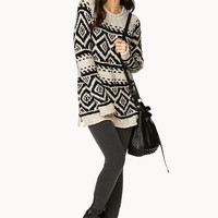 Bouclé Boyfriend Sweater