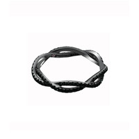 Eternamé Entrelacs Ring - Black Diamond Ring - ShopBAZAAR