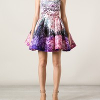 MARY KATRANTZOU printed sleeveless dress