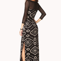 Globetrotter Side-Slit Maxi Dress