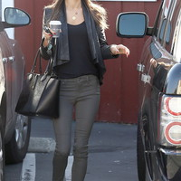 Level 99 Liza Moto Skinny as seen on Alessandra Ambrosio