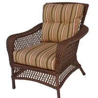 clearance wicker chair