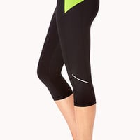 Reflective Workout Capris