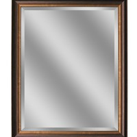 Oil Rubbed Bronze Wall Mirror 26x32 (8923) - Illuminada