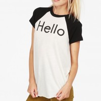 YOU CALLED? RETRO RAGLAN