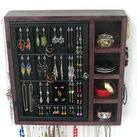 Jewelry Organizer with two layers of storage