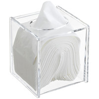 The Container Store > Acrylic Hinged-Lid Boutique Tissue Box