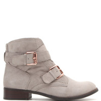 With Love From CA Double Buckle Suede Boots at PacSun.com