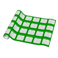 Happy New Year 2014 Calendar Wrapping Paper