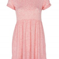 Coral Speckle T-Shirt Dress | Dresses | Desire